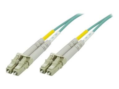 Deltaco Nettverkskabel LC/UPC LC/UPC OM3 25m 25m