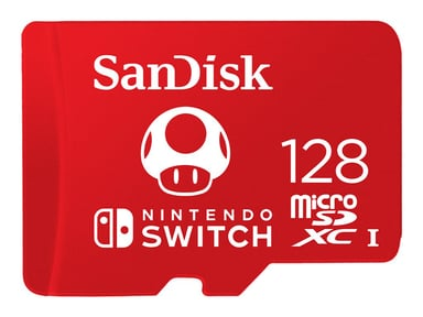 SanDisk Nintendo Switch 128GB microSDXC UHS-I Memory Card