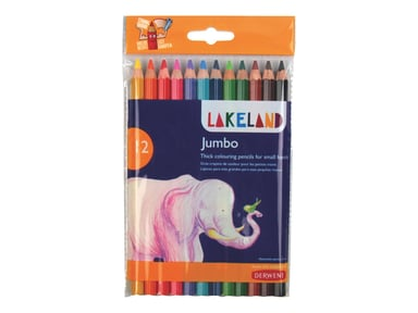 Derwent Lakeland Coloring Pencil Jumbo Case 12pcs null