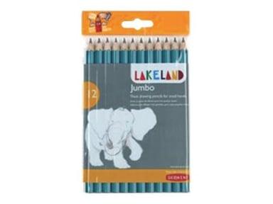 Derwent Lakeland Coloring Penn Jumbo Case 12 stk null
