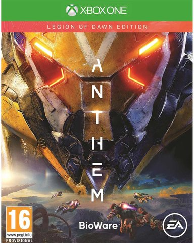 EA Games Anthem Legion Of Dawn Edition Microsoft Xbox One