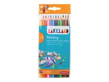 Derwent Lakeland Coloring Painting Penne Case 12 stk.