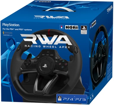 Hori Racing Wheel Apex PS4 #Demo Musta