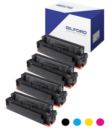 Gilford Toner Kit (B/C/M/Y) 410X 5K