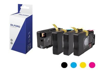 Gilford Blekk Kit (C/m/Y/B) 950Xl/951Xl#Bundling