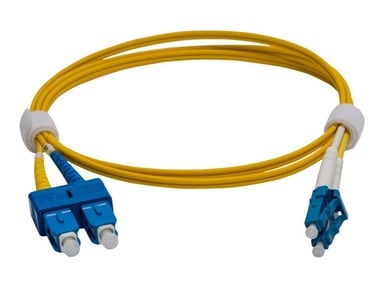 Pro Optix Kytkentäkaapeli SC/UPC LC/UPC OS2 2m 2m