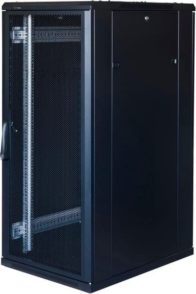"""Toten System G 19"""" 18U 600X1000 Perf. Door Black"""