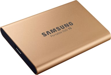 Samsung Portable SSD T5 Gold 1TB 1TB Goud