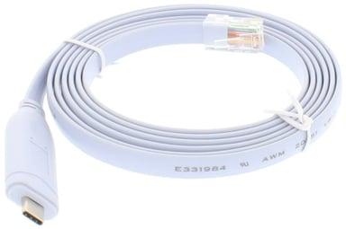 Direktronik Console Cable RJ45 USB-C 1.8m Blue null