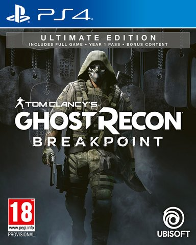 Ubisoft Tom Clancy's Ghost Recon Break Point Ultimate Edition null