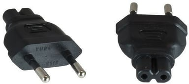 Microconnect Power Adapter Eu Plug m - C7 F Eurokontakt (ström CEE 7/16) Hane Ström IEC 60320 C7 Hona