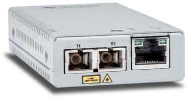 Allied Telesis AT MMC200/LC Glasvezel mediaconverter RJ-45 LC multi-modus