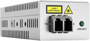 Allied Telesis AT DMC1000 Glasvezel mediaconverter RJ-45 LC multi-modus