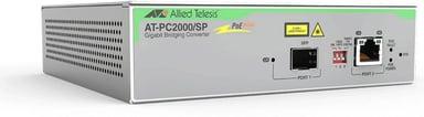 Allied Telesis AT-PC2000/SP Glasvezel mediaconverter SFP (mini-GBIC) RJ-45