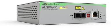 Allied Telesis AT-PC2000/SC Glasvezel mediaconverter SC RJ-45