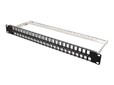 Deltaco Patchpanel 48 portar