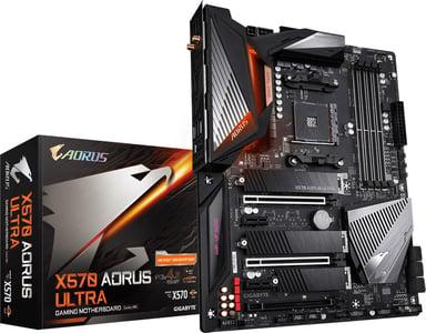 Gigabyte X570 Aorus Ultra S-AM4 ATX ATX Hovedkort