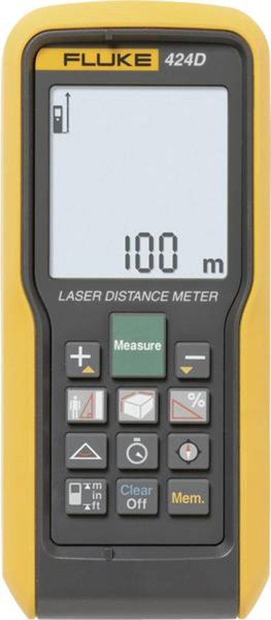Fluke Networks 424D Afstandsmåler Laser 100m