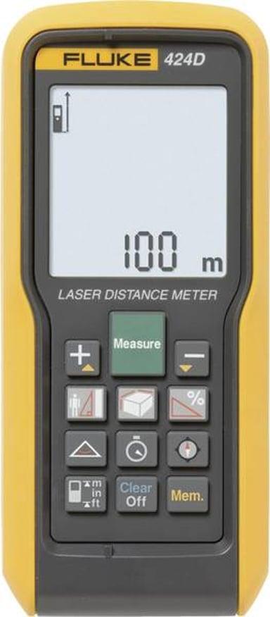 Fluke Networks 424D Vällimatkan mittari Laser 100m