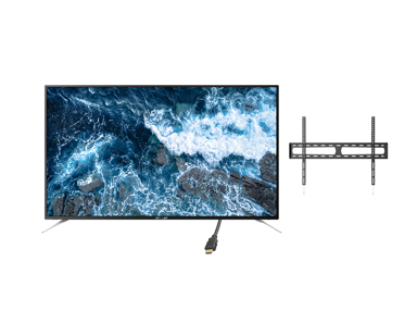"Voxicon VXS375U 75"" 4K LED Smart Netflix kokouspaketti"