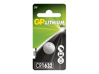 GP Button Cell CR1632 Lithium 3V