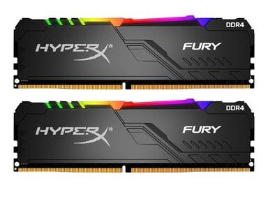 Kingston HyperX FURY RGB 32GB 32GB 3,200MHz DDR4 SDRAM DIMM 288-pin