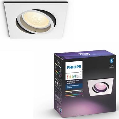 Philips Hue Centura White/Color Spot Square White