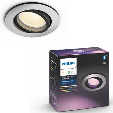 Philips Hue Centura White/Color Spot Round Silver null