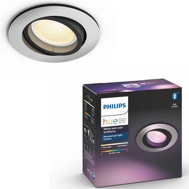 Philips Hue Centura White/Color Spot Round Silver