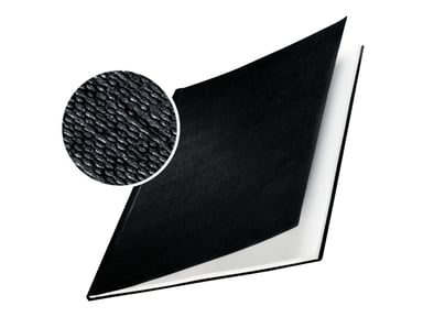 Leitz ImpressBIND-kansi, kova, musta A4 24,5 mm, 10 kpl