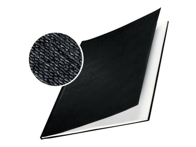 Leitz ImpressBIND hårdt, sort, A4, 28mm, 10 stk.