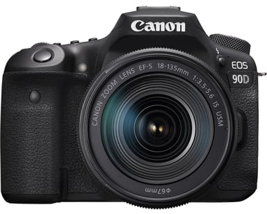 Canon EOS 90D + 18-135mm f/3.5-5.6 IS USM null