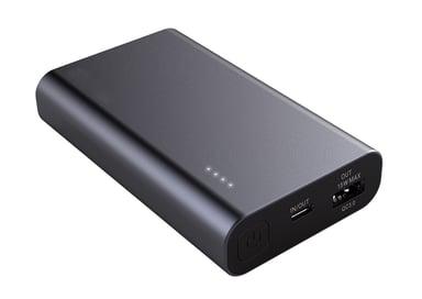 Cirafon Powerbank Premium 10000mAh Pd3.0 Qc3.0 10,000milliampere hour 3A Galatisk sort