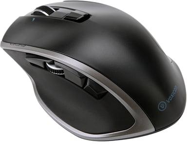 Voxicon Wireless Pro Mouse Dm-P30wl Bt+2.4Hz 1,600dpi Mus Trådløs Sort