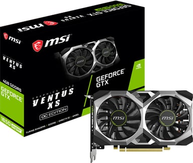 MSI GeForce GTX 1650 Super VENTUS XS OC 4GB