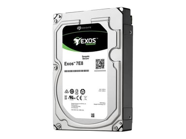 """Seagate Exos 7E8 2TB 3.5"""" Serial Attached SCSI 3"""