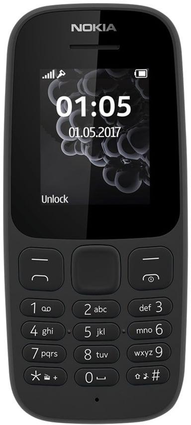 Nokia 105 (2019) Musta
