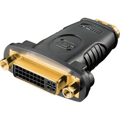 Deltaco Adapter HDMI Hun DVI-D Dual Link Hun