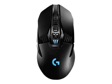 Logitech Wireless Gaming Mouse G903 LIGHTSPEED with HERO 16K sensor 16,000dpi Mus Kabling Trådløs Sort