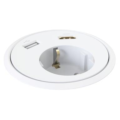 Kondator Powerdot Power HDMI USB White