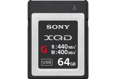 No Name Sony G-Series Xqd 64GB 64GB