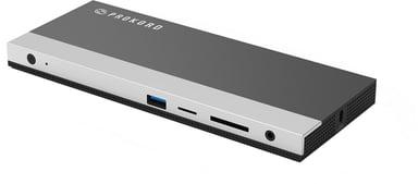 Prokord Workplace Charging Dockingstation 2xHDMI USB-C Porttitoistin
