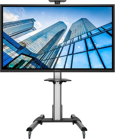 "Voxicon Digital Whiteboard + Cart 65"" 450cd/m² 4K UHD (2160p) 16:9"