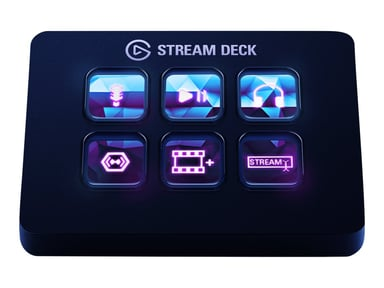 Elgato Stream Deck Mini Svart Svart