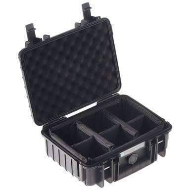 B&W International Outdoor Cases Type 1000 Musta
