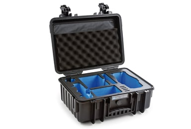 B&W International Drone Cases Type 4000 for DJI Mavic 2 Svart
