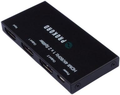 Prokord HDMI 2-Port 4K Video Splitter 4K@60HZ