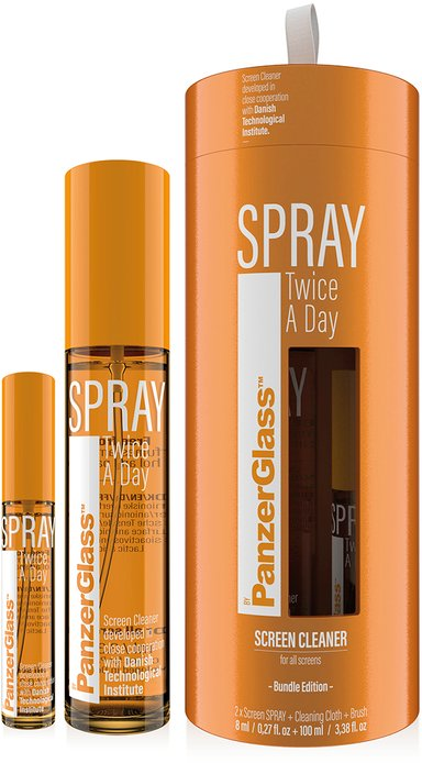 Panzerglass Spray Twice A Day 8 ml + 100 ml Bundle