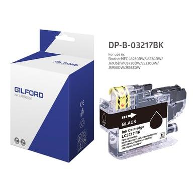 Gilford Bläck Svart - MFC-J5330/MFC-J6930 - LC3217BK