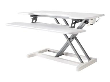 Bakker Justerbart Sit-Stand Desk Riser 2 Hvit null